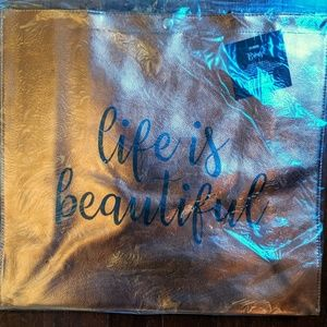 FREE NWT 💖 Life is Beautiful 💖 Tote